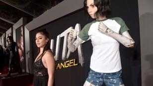 Rosa Salazar, who voices the title character in 'Alita: Battle Angel,' is seen at the film's recent Los Angeles premiere