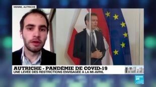 2020-04-06 16:09 Coronavirus : L'Autriche envisage un assouplissement des restrictions en vigueur