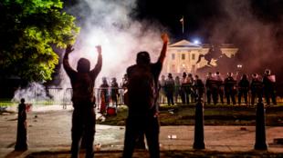 ANTIFA PROTEST POLICE