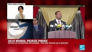 2019-10-11 11:38 Nobel Peace Prize recognises Abiy Ahmed's domestic reforms