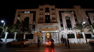 المجلس الدستوري في العاصمة الجزائرية، في 3 مارس/آذار 2019.