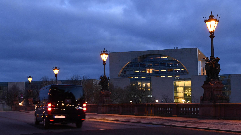 Imagen de la Cancillería de Alemania, sede de la cumbre internacional sobre Libia en Berlín, Alemania. 18 de enero de 2020.