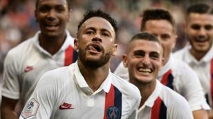 Face à Strasbourg, Neymar a signé un magnifique but avec lePSG.