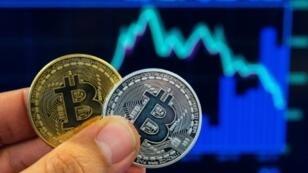 Une représentation de bitcoin
