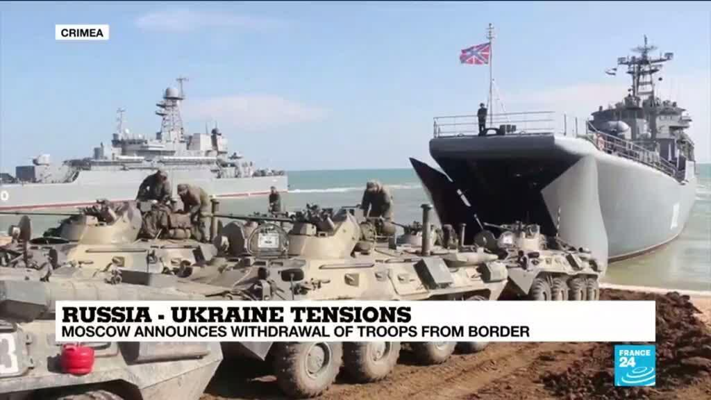 2021-04-23 13:06 'Cautious relief' in Kiev as Russia pulls back troops from border