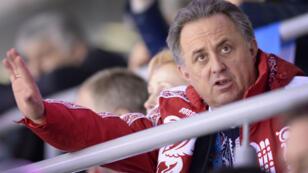 Le ministre des Sports russe Vitaly Mutko.
