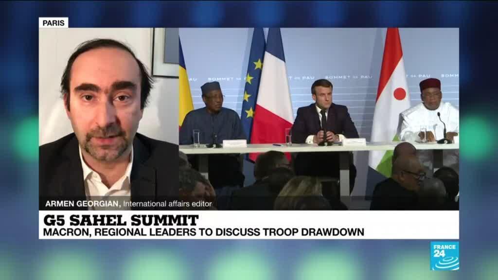 2021-02-15 13:10 G5 Sahel summit: France to meet regional leaders as it mulls troop drawdown