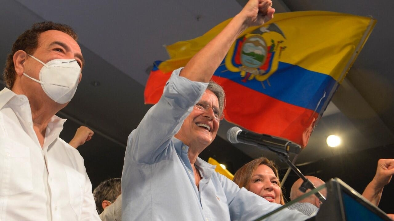 Conservative former banker Lasso wins Ecuador's presidential election