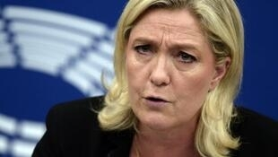 """Marine Le Pen est en """"visite privée"""" à New York d'après son directeur de campagne David Rachline."""