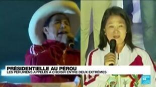 """Présidentielle au Pérou : """"un pays très divisé"""" en proie à une profonde crise politique et sociale"""