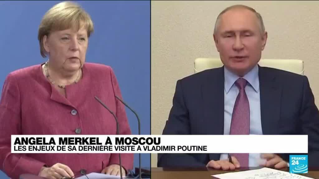 2021-08-20 11:03 Ultime visite de Merkel à Poutine en pleine crise afghane