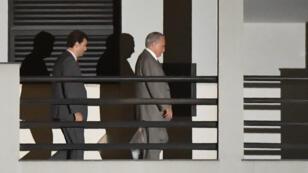 L'ancien président brésilien Michel Temer est sorti de détention lundi 25mars.