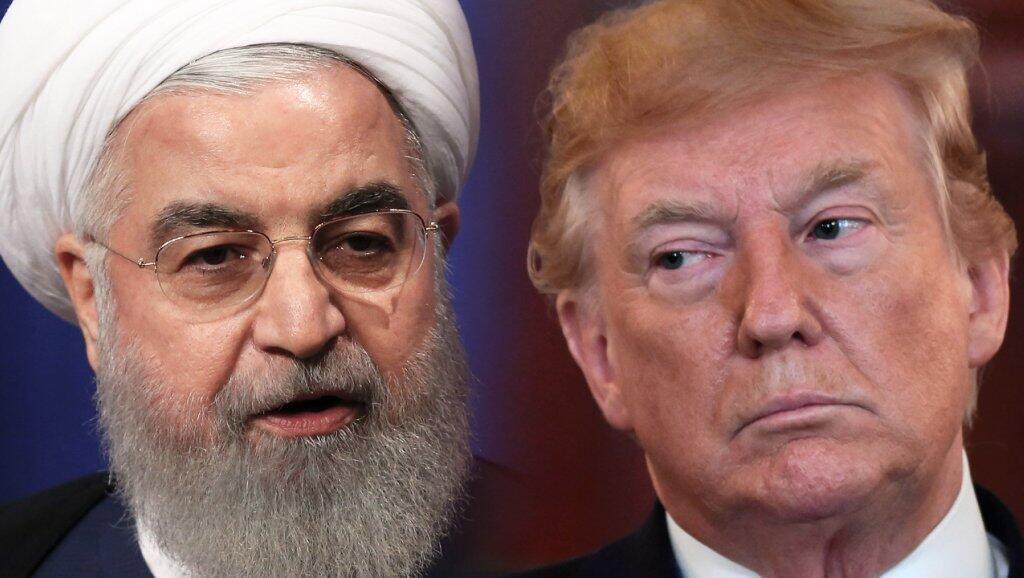 El presidente de Irán, Hassan Rohani y el presidente de Estados Unidos, Donald Trump, han sostenido choques verbales en las últimas semanas.