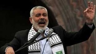 Ismaïl Haniyeh, le chef du Hamas à Gaza.