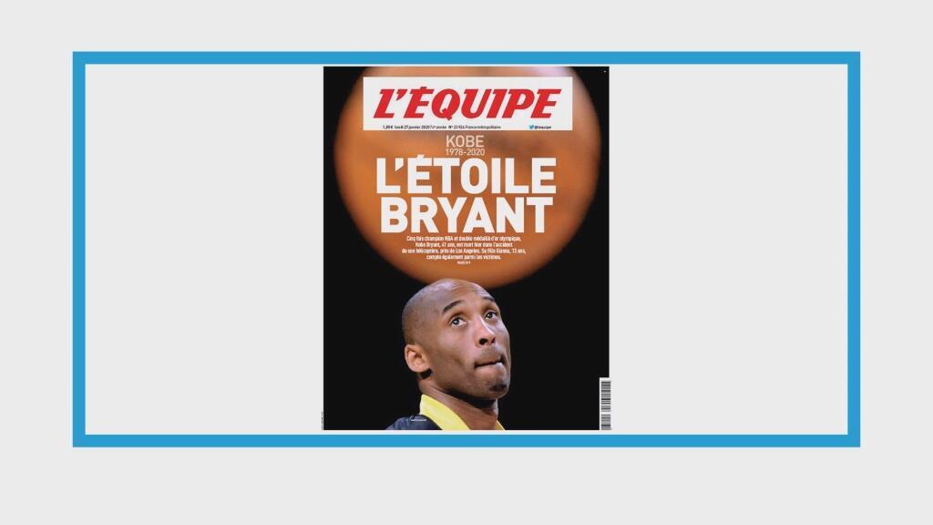 Mort accidentelle du basketteur américain Kobe Bryant