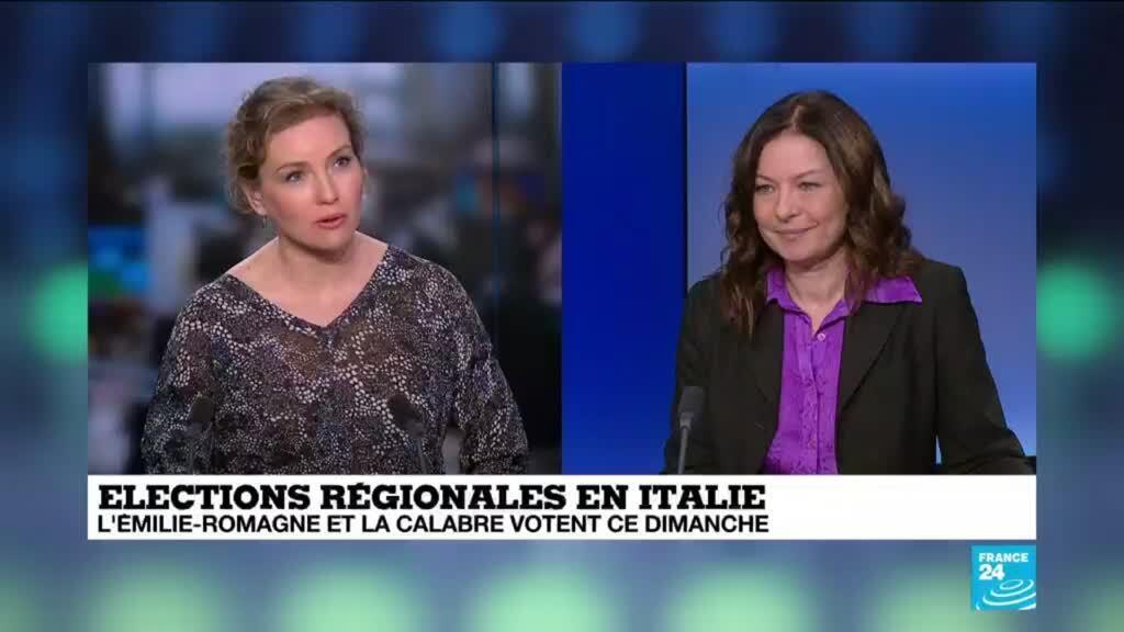 """2020-01-26 13:04 Ludmila Acone sur France 24: """"Il y a une crise générale en Italie et partout dans le monde"""""""