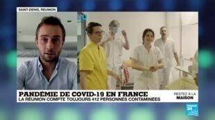 2020-04-24 08:03 Covid-19 en France : Le nombre de contaminations en baisse à La Réunion
