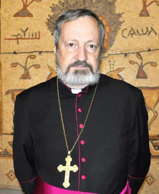 Monseigneur Pascal Gollnisch, directeur général de l'Œuvre d'Orient.