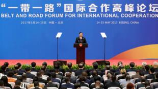 """En2017, la Chine avait organisé le premier forum international des """"nouvelles routes de la soie""""."""