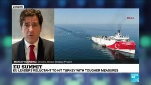 2020-12-10 14:34 EU summit: leaders weigh sanctions over Turkey's drilling work