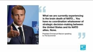 2019-11-08 12:38 Is NATO really suffering 'brain death' as French president Emmanuel Macron​ claims?