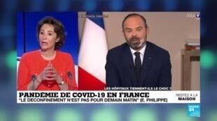 2020-04-03 12:03 Coronavirus en France : Quels scénario de déconfinement ?