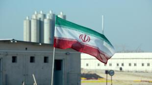 La centrale nucléaire de Bushehr lors d'une cérémonie officielle, le 10 novembre 2019.