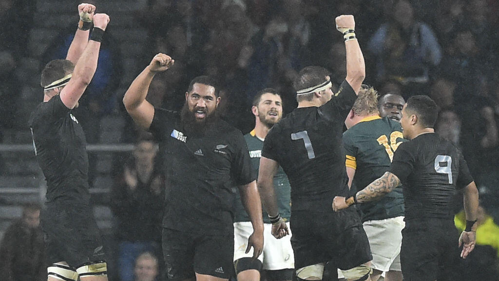 Au bout du suspense, les All Blacks ont battu les Springboks en demi-finale de la Coupe du monde 2015.