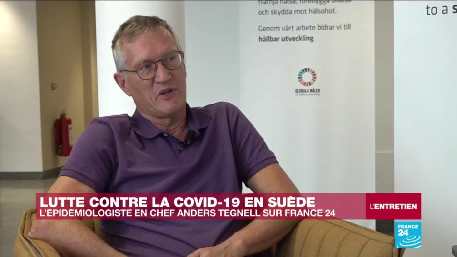 Anders Tegnell, épidémiologiste en chef de l'Agence de la santé publique suédoise