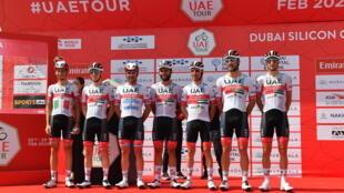 UAE Team Emirates once again find themselves under a coronavirus cloud