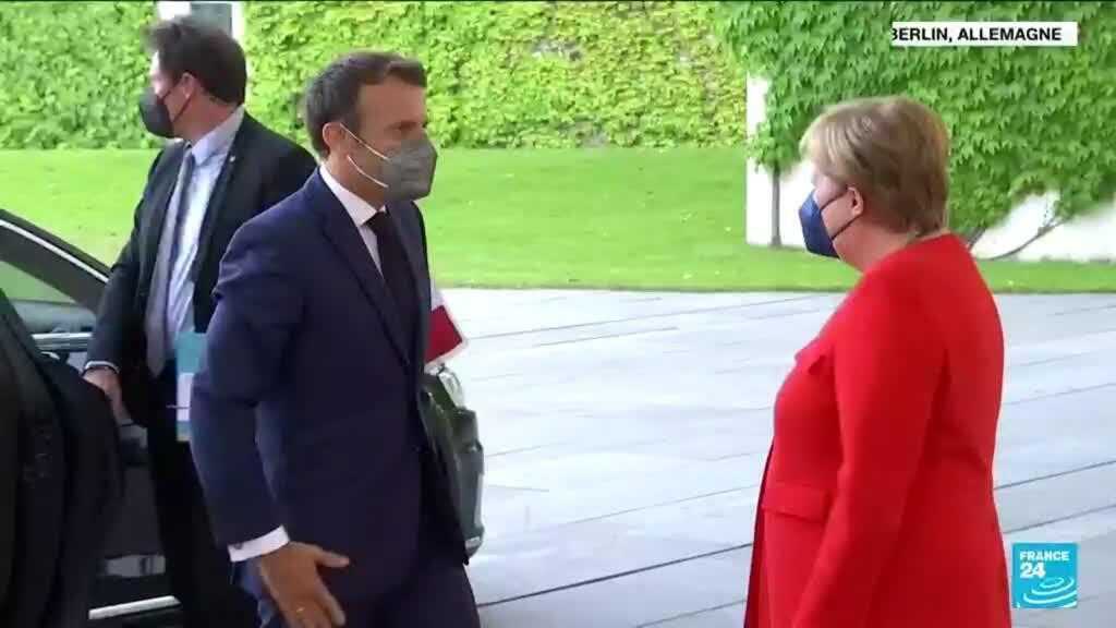 2021-06-24 11:03 Tensions UE / Russie : France et Allemagne proposent un sommet avec Poutine
