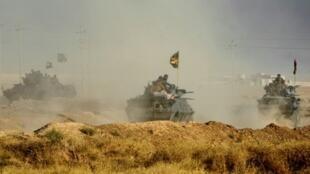 تحقق القوات العراقية بدعم من قوات التحالف تقدما في الموصل