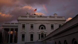Archivo-Imagen general de la fachada de la Casa Blanca, en Washington D.C., Estados Unidos, el 30 de noviembre de 2020.
