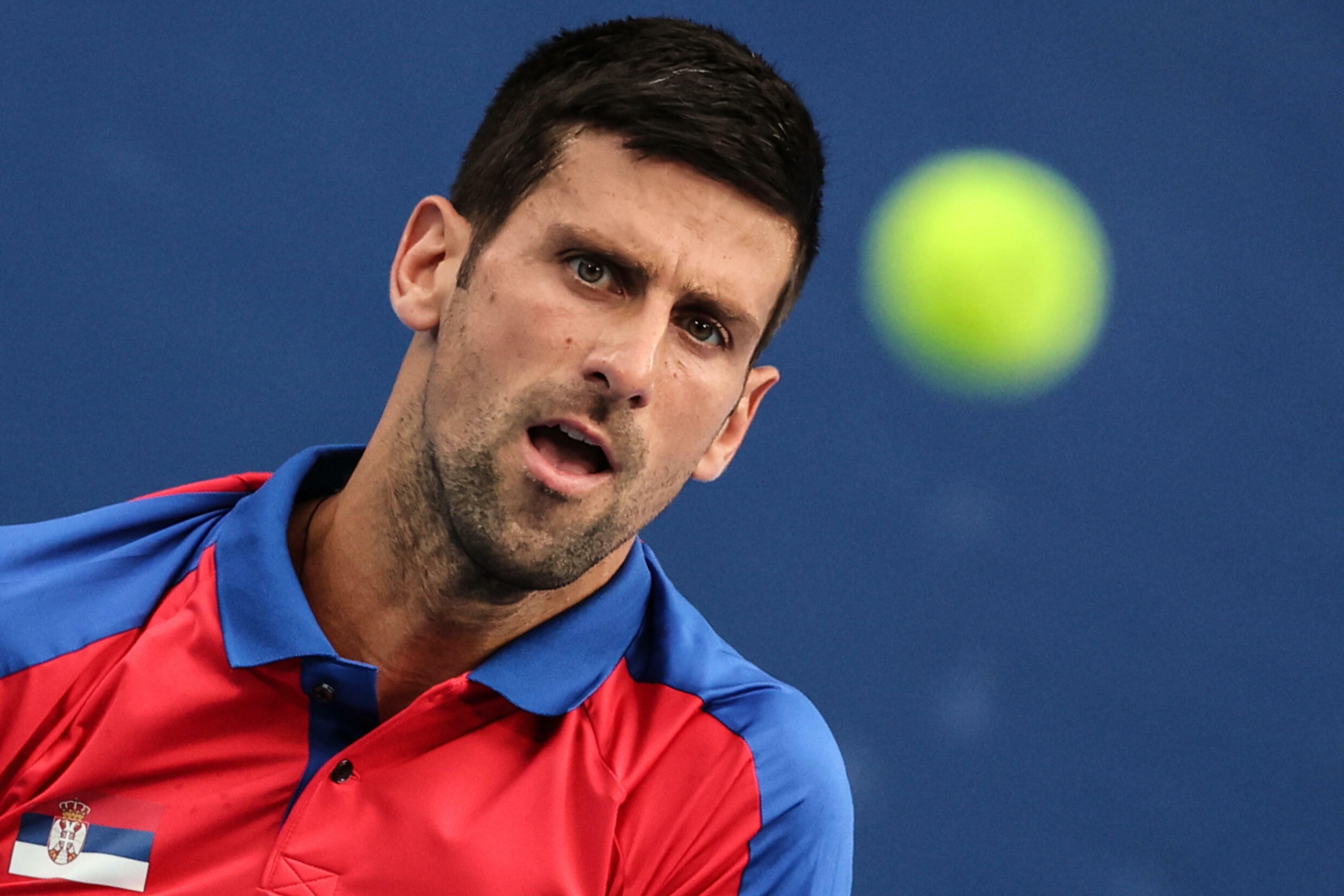 Serbia's Novak Djokovic is looking to complete a calendar-year Grand Slam by winning the US Open, which begins Monday in New York