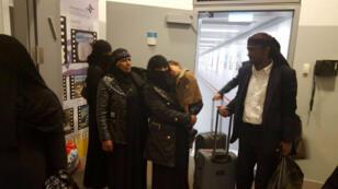 L'arrivée du dernier groupe de juifs yéménites, à Tel Aviv, le 20 mars 2016.