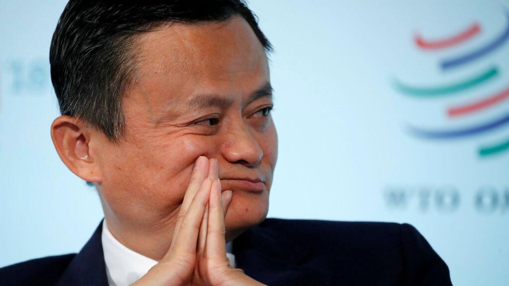 La fortune de Jack Ma, PDG d'Alibaba, est estimée à 35,1 milliards de dollars.