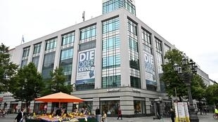 Imagen de unos grandes almacenes de Berlín situados en el distrito de Charlottenburg, el 8 de julio de 2020 en la capital alemana