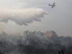 لبنان يستعين بطائرات من دول الجوار لإخماد حرائق واسعة