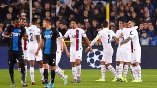 Le PSG n'a fait qu'une bouchée de son adversaire belge, mardi 22 octobre 2019.
