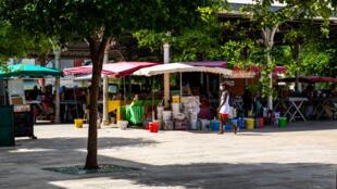 guadeloupe marché covid