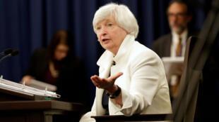 Janet Yellen, actual presdienta de la Reserva Federal de Estados Unidos.