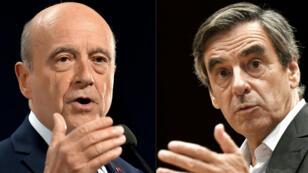 Les deux adversaires seront départagés au second tour de la primaire de la droite et du centre, dimanche 27 novembre.