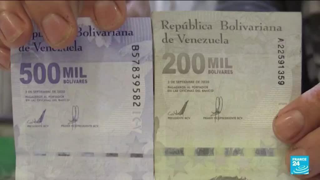 2021-08-06 11:06 Le Venezuela en proie à l'hyperinflation va supprimer six zéros à sa monnaie