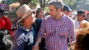 Mario Abdo Benítez, candidato oficialista a la presidencia en Paraguay y el más opcionado para ganar las elecciones del 22 de abril.