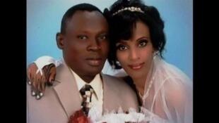 Meriam Yahia Ibrahim Ishag et son époux