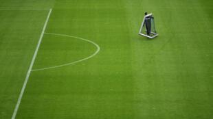 Le terrain d'entraînement de Schalke 04, à Gelsenkirchen, le 29 avril 2020