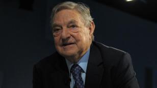George Soros le 23 janvier 2013.