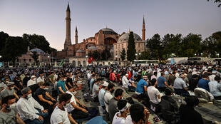 Hagia Sophia was built as a cathedral