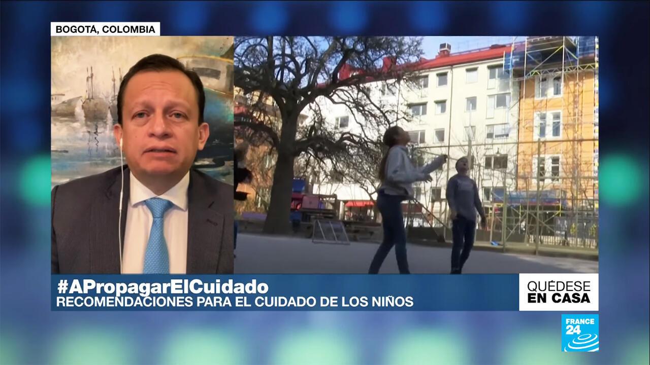 El doctor Carlos Eduardo Pérez recomienda el 6 de mayo qué medidas tomar para salir con los menores de edad durante el desconfinamiento a causa del Covid-19.
