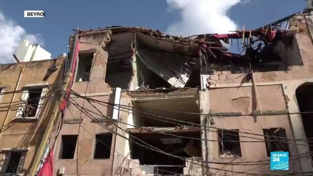Dans les quartiers dévastés de Beyrouth, la population tente de survivre